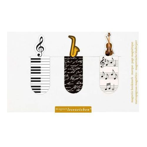 Magnetyczne zakładki do książek - muzyka