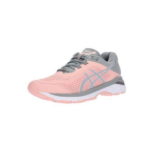 buty do biegania 'gt-2000 6' kamień / różowy pudrowy marki Asics