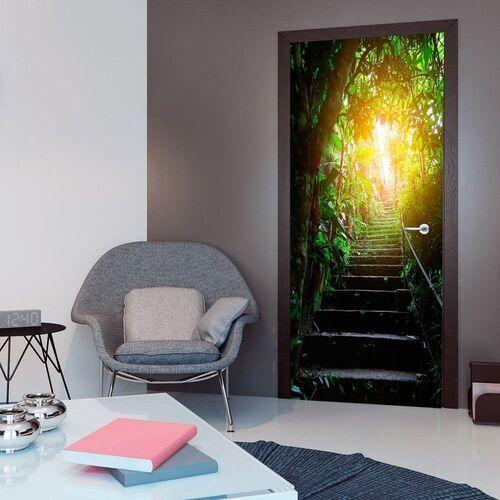 Artgeist Fototapeta na drzwi - tapeta na drzwi - schody w miejskiej dżungli