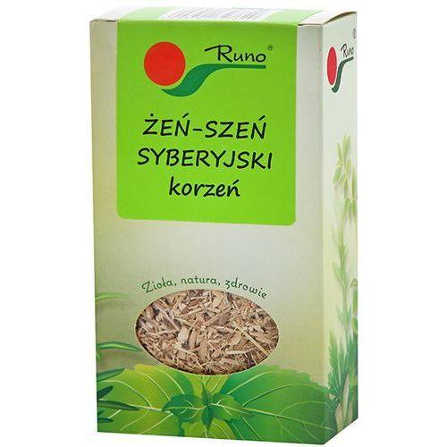 RUNO 50g Żeń-szeń syberyjski korzeń w kartoniku | DARMOWA DOSTAWA OD 150 ZŁ!