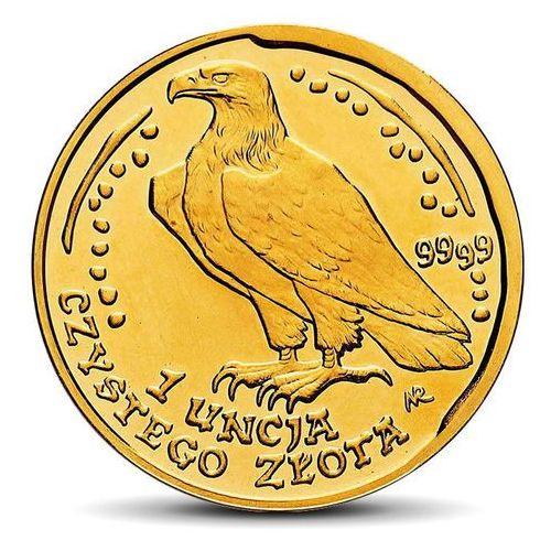 Moneta Orzeł Bielik 1 uncja złota - wysyłka 24 h!