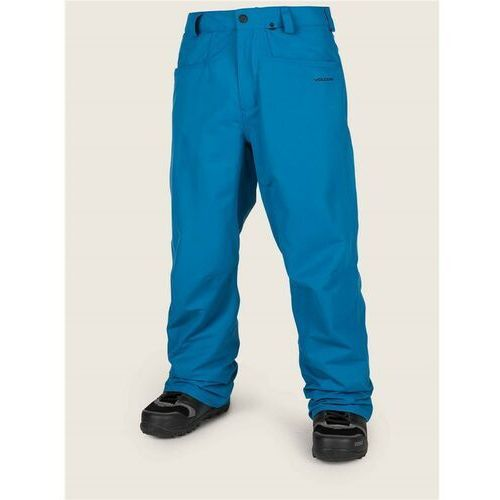 spodnie VOLCOM - Carbon Pnt Blue (BLU) rozmiar: L, kolor niebieski