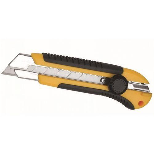 Dedra exim sp z.o.o. Nóż xxl 25mm odłamywane ostrze uchwyt z gumą