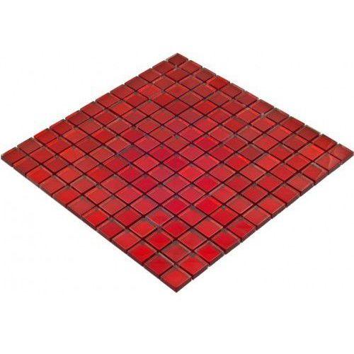 Goccia color line mozaika szklana czerwona, 30x30 cm cls1603 marki Goccia mosaico