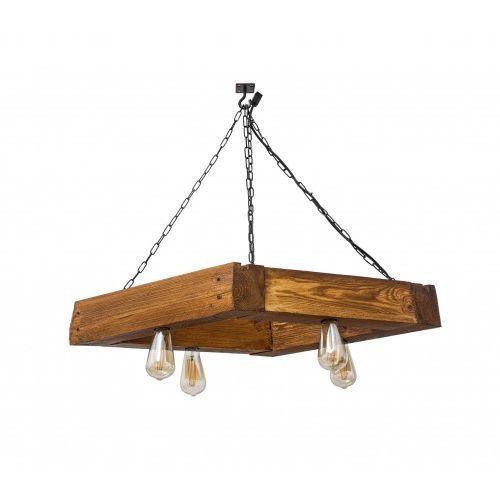 Lampa wisząca Mora drewniana Mabrillo- dąb satynowy, 0976-501DB