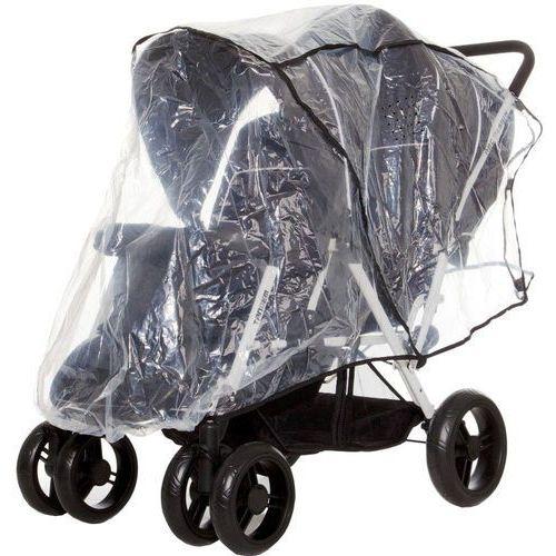 folia przeciwdeszczowa na wózek podwójny (tandem) marki Abc design