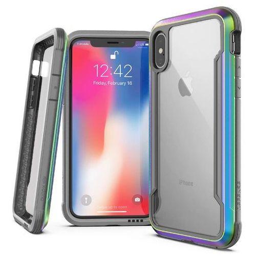 X-doria defense shield etui aluminiowe iphone xs max (iridescent) (drop test 3m) (6950941473262)