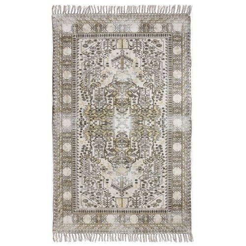 Hk living łatany dywan bawełniany z nadrukiem i frędzlami (120x180) ttk3011 (8718921014779)