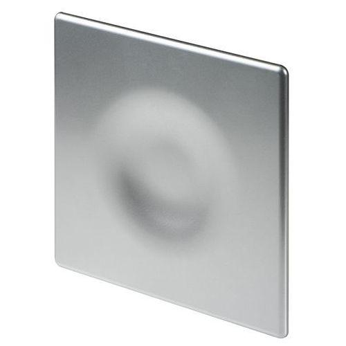 Cichy wentylator łazienkowy silent + wymienne panele czołowe różne funkcje: higro,timer model: włącznik pociągany, średnica: 100 mm, panel frontowy: orion satyna marki Awenta