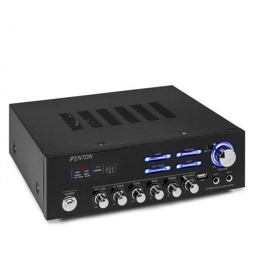 av120bt, stereo hifi wzmacniacz, 120 w rms, (2 x 60 w na 8 ohm), bt/usb/aux marki Fenton