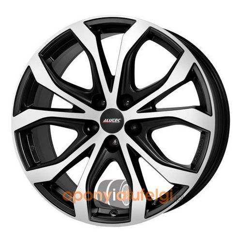 Alutec w10 racing black frontpolished 8.00x18 5x112 et31, dot