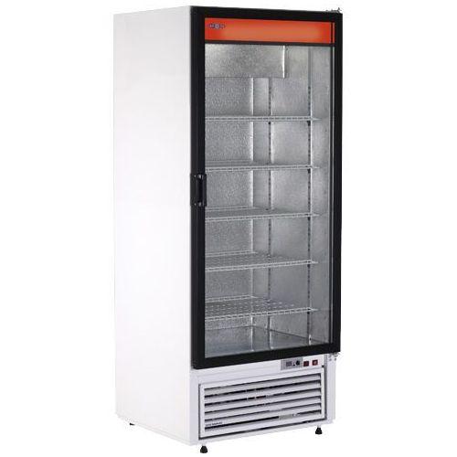 Szafa chłodnicza przeszklona, biała bez wentylatora 554 l   , sch-s 725 marki Rapa
