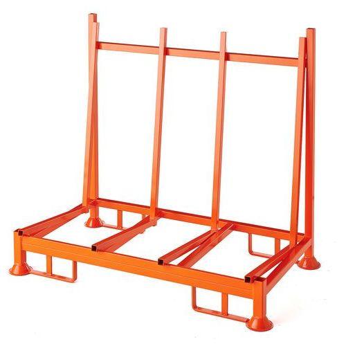 Aj produkty Stojak na płaskie przedmioty, jednostronny, 1400x770x1270 mm, nośność 1000 kg