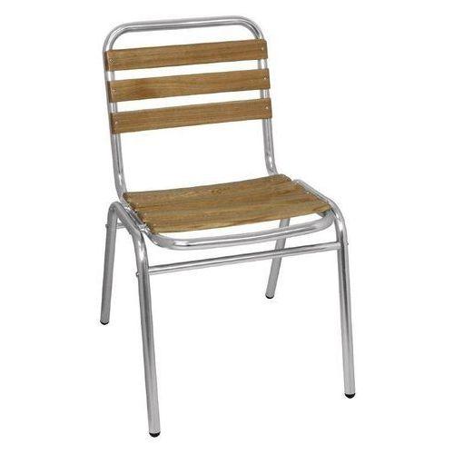 Bolero Krzesła sztaplowane | 4 szt. | 48,5x56,5x(h)77,3cm
