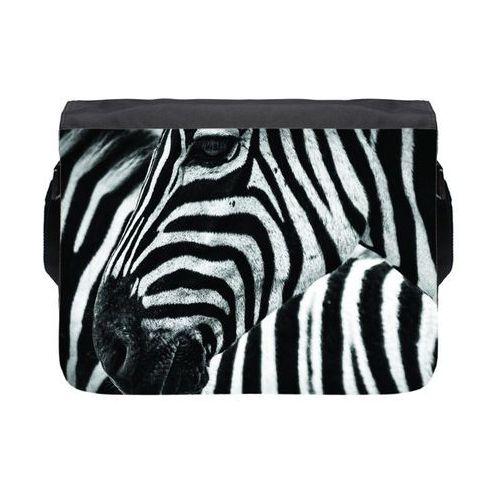 Torba na ramię duża Zebra 3, kolor czarny