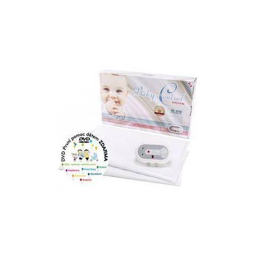 Monitor oddechu bc-210, dwie jednostki sterujące biała marki Baby control