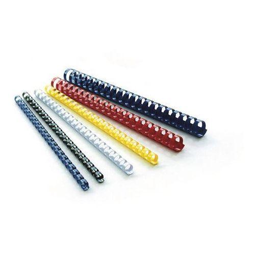 Argo Grzbiety do bindowania 12,5mm - przezrocz. op.100 - OKAZJE