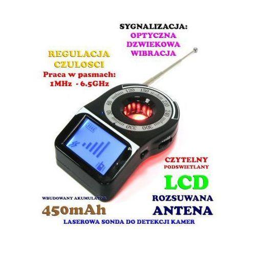 Laserowy wykrywacz podsłuchów, kamer, gsm, lokalizatorów gps... z wyświetlaczem lcd. marki Spy electronics co.