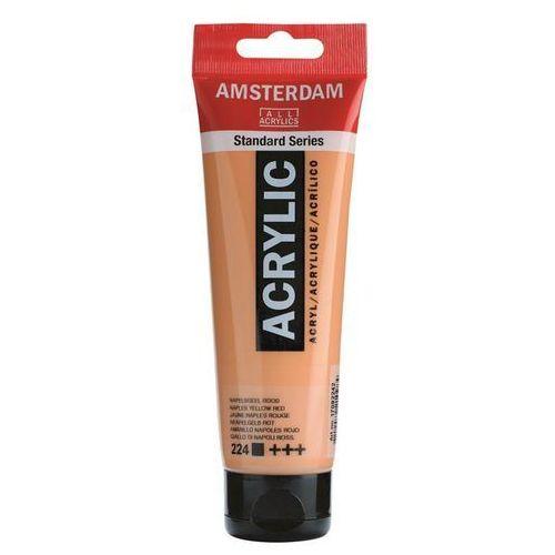 Talens amsterdam acryl farba 120ml 224 nap yel red (8712079210984)