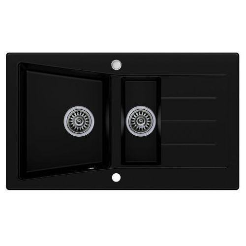 Zlewozmywak Granitowy MADRYT czarny, MR-KB_20130816101655