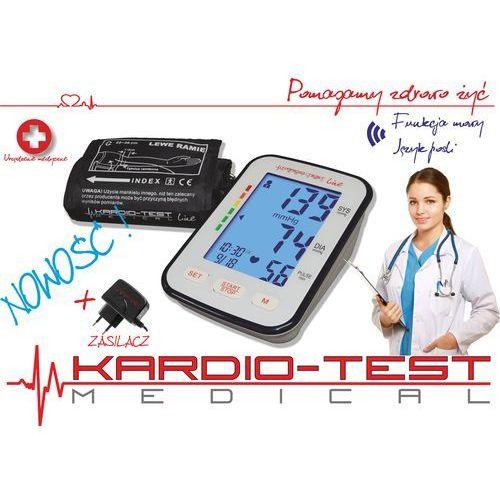 Ciśnieniomierz naramienny elektroniczny mówiący w j.polskim KTA-K6 COMFORT+ZASILACZ