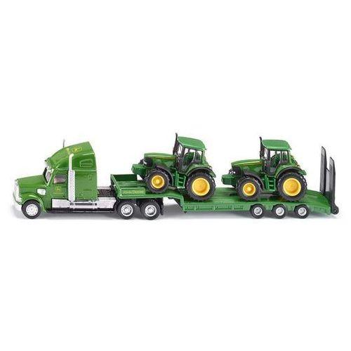 farmer - ciężarówka z naczepą + 2 traktory marki Siku