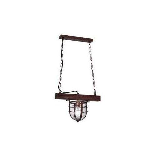 Lampa wisząca ander 1xe27/60w/230v ciemnobrązowa marki Luminex