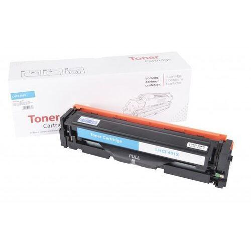 Toner Cyan HP 201X zamiennik CF401X 2.3K no oem Toner Cyan HP 201X zamiennik CF401X 2.3K no oem