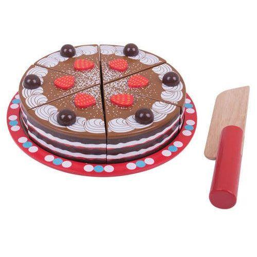 Tort czekoladowy do zabawy dla dzieci, Bigjigs