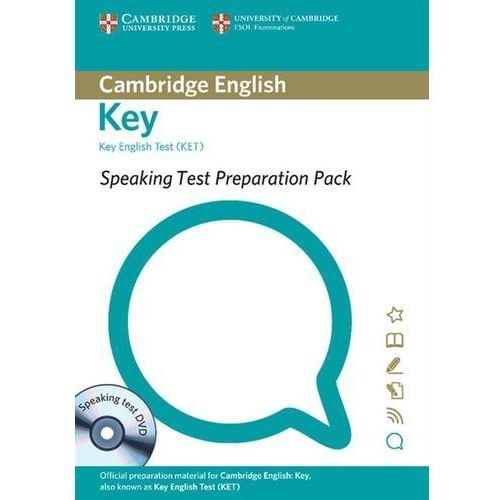 Speaking Test Preparation Pack for Key English Test (KET) with DVD (9781906438845)
