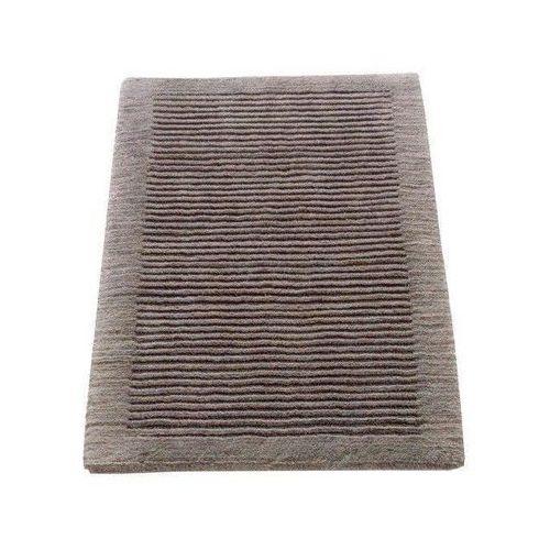 Dywanik łazienkowy Cawo ręcznie tkany 120 x 70 cm grafitowy