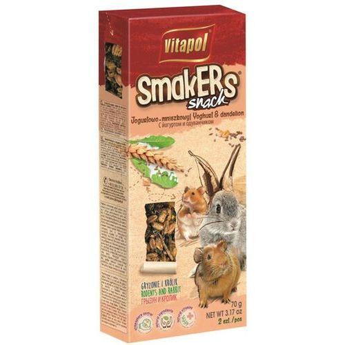 Vitapol smakers dla gryzoni - jogurtowo-mniszkowy 2szt [1105] (5904479011053)