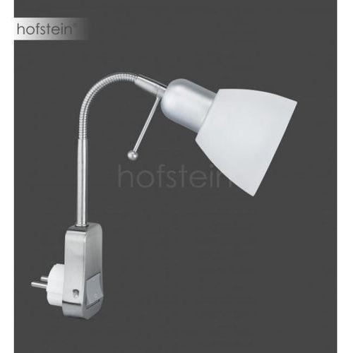 Trio 8901 lampa z wtyczką Nikiel matowy, 1-punktowy - Nowoczesny/Dworek - Obszar wewnętrzny - LIGARA - Czas dostawy: od 3-6 dni roboczych (4017807118780)
