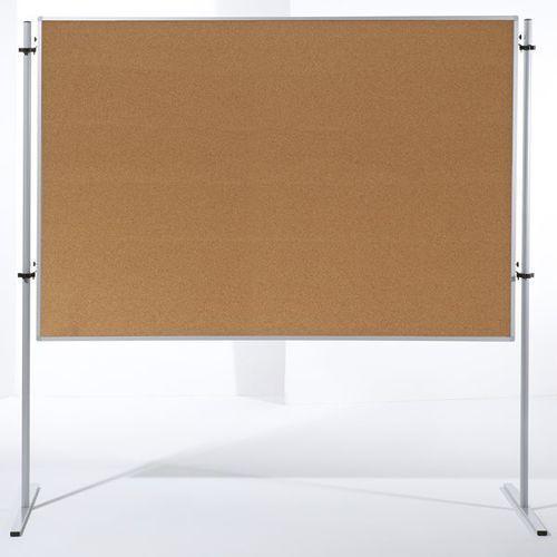 Ścianka funkcyjna, wys. x szer. 1800x1200 mm, korek naturalny, opak. 2 szt. zawi marki Carto