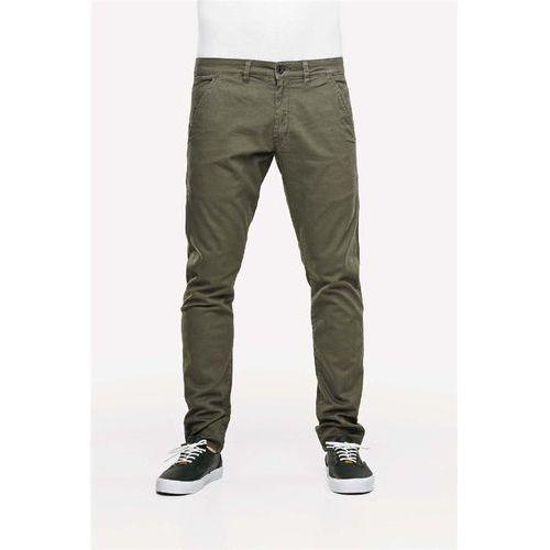 Spodnie - flex tapered chino 160 olive (olive) rozmiar: 32/32 marki Reell