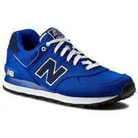 Sneakersy NEW BALANCE - Classics ML574POB Niebieski, 36-38