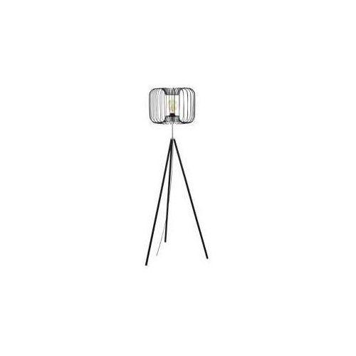 Eglo corsavy 98439 lampa podłogowa oprawa stojaca 1x60w e27 czarna/chrom