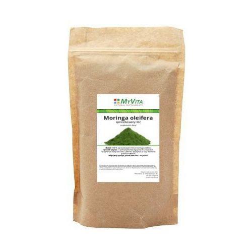 Moringa oleifera sproszkowany liść () 250g marki Myvita