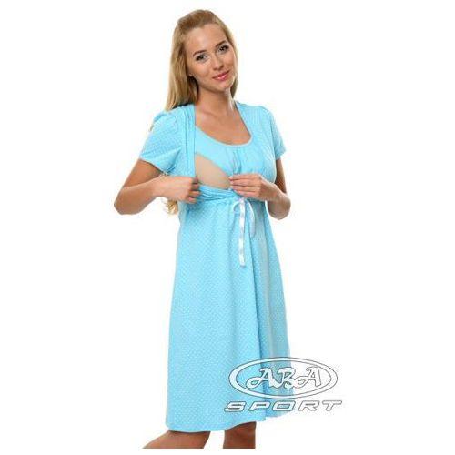 Koszula ciążowa Radość Italian Fashion/ WYSYŁKA 24h/GWARANCJA 24m - Niebieski