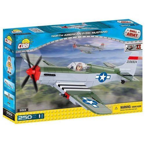 Cobi Small army samoloty ii p-51c mustang (5902251055134)