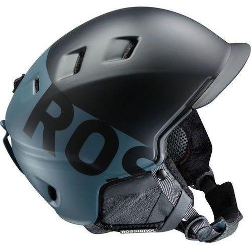 Rossignol pursuit s kask szary/czarny l/xl 2017 kaski narciarskie (3607682198901)
