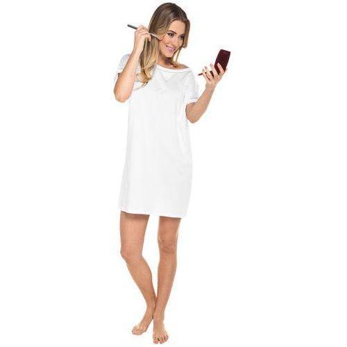 Koszula nocna oktawia - biały, Italian fashion
