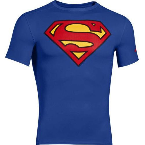 Termoaktywna koszulka męska alter ego hg compression superman 1244399-401  marki Under armour