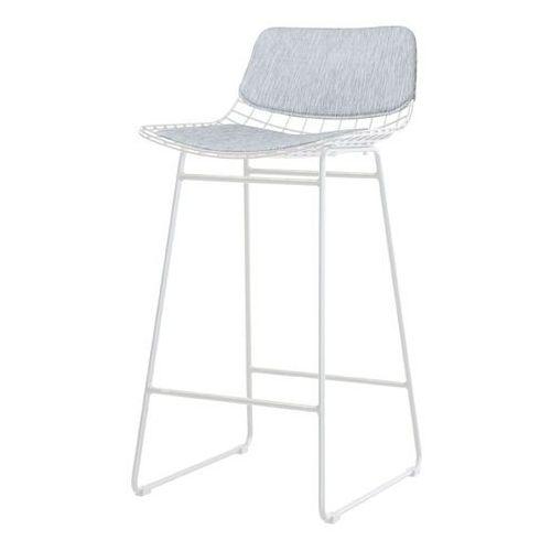 zestaw comfort szary do stołka barowego wire - hk living tot4004 marki Hk living