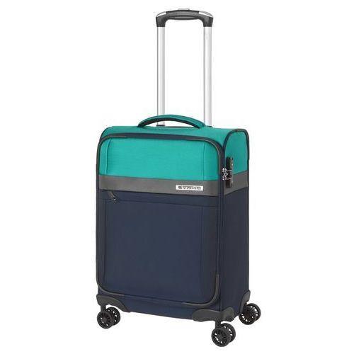 stream walizka mała kabinowa 21/55 cm / granatowy - granatowy marki Travelite