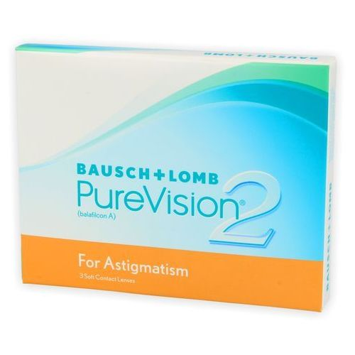 Purevision 2 hd for astigmatism 3 szt. marki Bausch & lomb