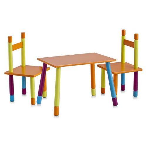 Zeller Stolik dziecięcy color + 2 krzesełka (4003368134550)