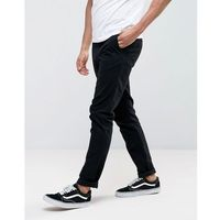 Weekday Wood chinos in black - Black, chinosy