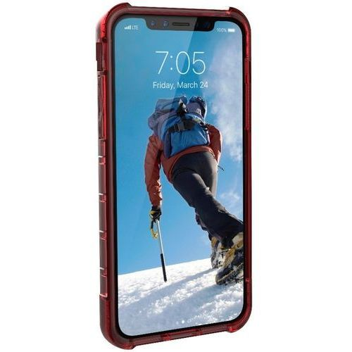 Etui URBAN ARMOR GEAR Plyo do iPhone X Czerwony + DARMOWY TRANSPORT!