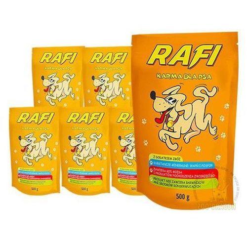 Dolina noteci Rafi 10x500g karma dla psów w saszetkach